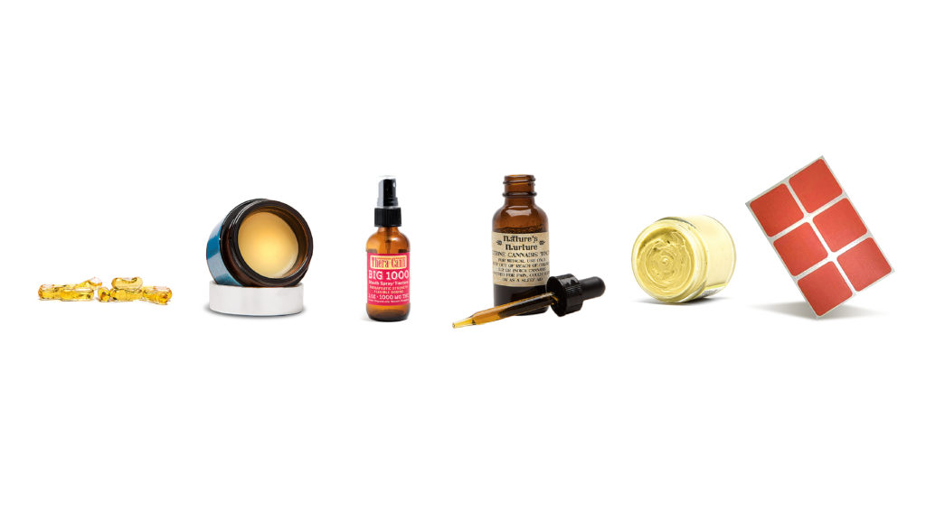 cannabis products tinctures oils concentrates